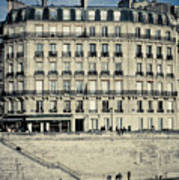 Parisian Building Poster