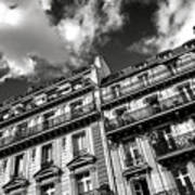 Parisian Buildings Poster