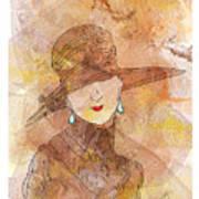 Parisienne 1930 Poster