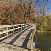 Park Bridge Autumn 2 Poster