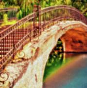Park Walk Bridge Poster