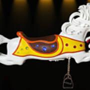 Parker Flying Carousel Horse 3 Poster