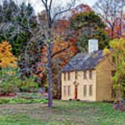 Parson Barnard House In Autumn Poster