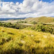Parting Creek Regional Reserve Tasmania Poster