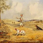 Partridge Shooting  Poster