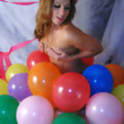 Party Balloon Poster