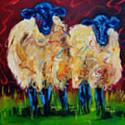 Party Sheep Poster