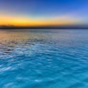 Pastel Ocean Poster
