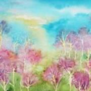 Pastel Spring Poster