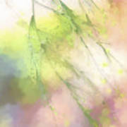 Pastel Spring Whispers Poster