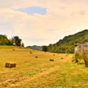 Pastorial Framland In Kentucky Poster