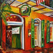 Pat O'brien's Bar On Bourbon Street Poster