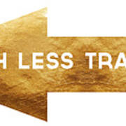 Path Less Traveled-  Art By Linda Woods Poster