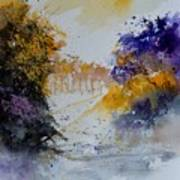 Path To ... Watercolor  Poster