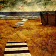 Pathway To The Sea II Poster