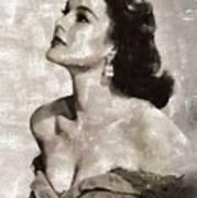 Patricia Medina, Vintage Actress Poster