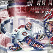 Patrick Roy Montreal Canadiens Poster