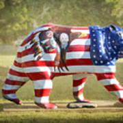 Patriot Bear Poster