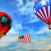 Patriotic Flight Poster