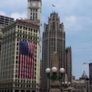 Patriotic View Poster