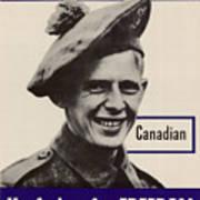 Patriotic World War 2 Poster Us Allies Canada Poster