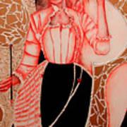 Patterna Rebecca         Poster by Rebecca Tacosa Gray