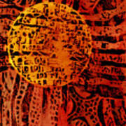 Patterns In The Sun Poster