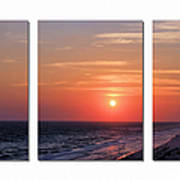 Patterns Of Sunset Poster