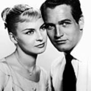 Paul Newman And Joanne Woodward In The Long Hot Summer 1958 Poster