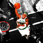 Paul Pierce In The Paint Poster