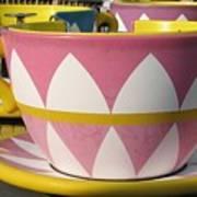 Pavilion Tea Cups Poster