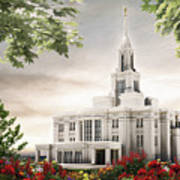 Payson Temple Poster