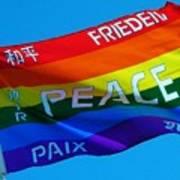 Peace - Paz - Paix Poster