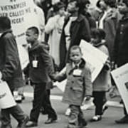 Peace Demonstration 1966 Poster
