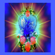 Peace Light And Love Poster