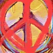 Peace Love  Art Poster