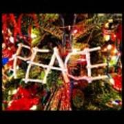Peace Ornament Poster