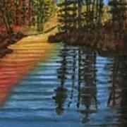 Peaceful Brook Poster