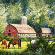 Peaceful Pasture Poster