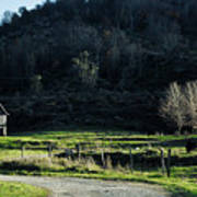 Peaceful West Virginia Valley Poster