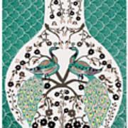 Peacock Love-2 Poster by Karunita Kapoor