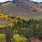Peak To Peak Highway Boulder County Colorado Autumn View Poster
