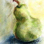 Pear with Flair Poster