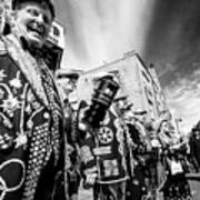 Pearly Kings And Queens Of London Hoxton Brick Lane Poster