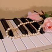 Pearly Pink Keys Poster