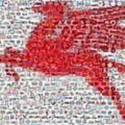 Pegasus Mosaic Poster