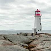 Peggys Cove Lighthouse 2 Poster