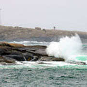 Peggys Cove Lighthouse 6127 Poster