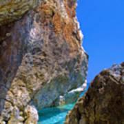 Pelion Rocks Poster by Neil Buchan-Grant