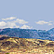 Peloncillo Mountains Panorama Poster
